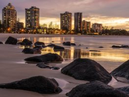 Coolangatta: as praias mais bonitas, e vazias!, de Gold Coast