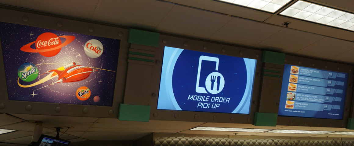 Mobile Order My Disney Experience