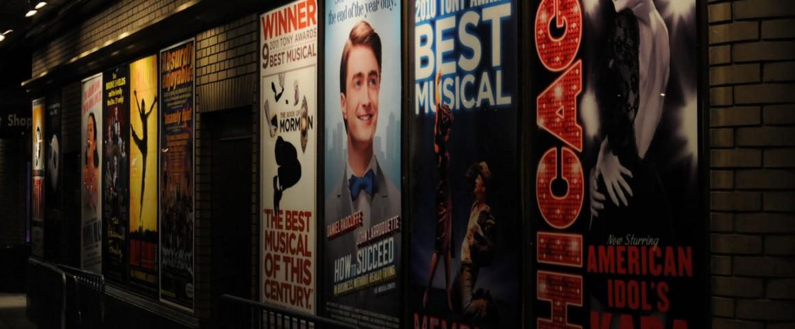 Tudo sobre os teatros da Broadway
