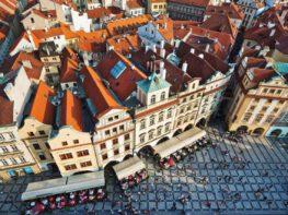 Para começar a rodar em Praga