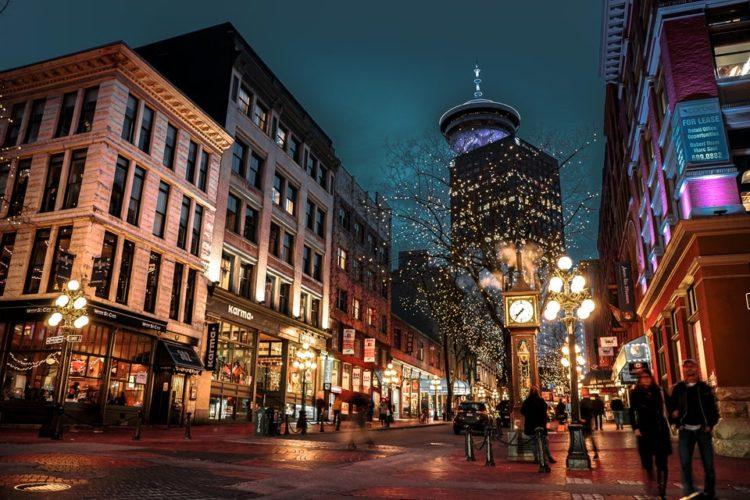 Os principais bairros de Vancouver: Gastown