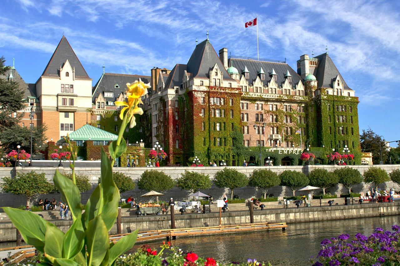 Onde se hospedar em Victoria, British Columbia