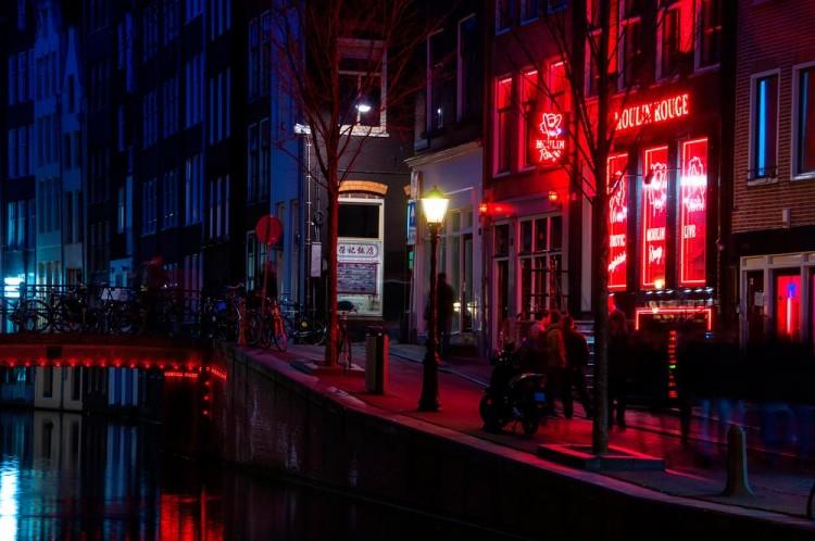 amsterda-red-light-district