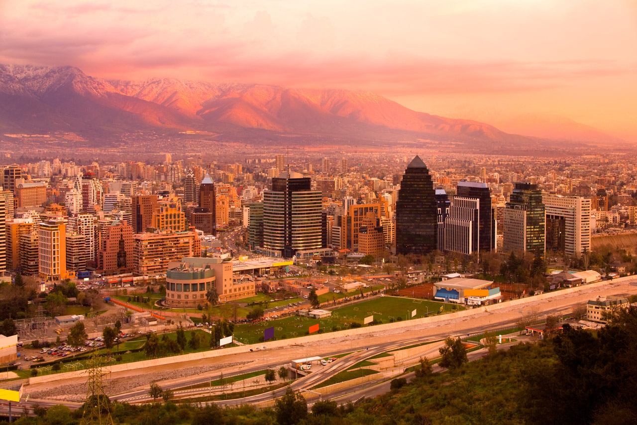 O melhor hostel de Santiago, Chile