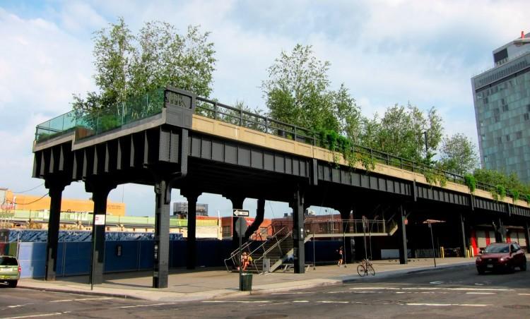 High Line em 2012