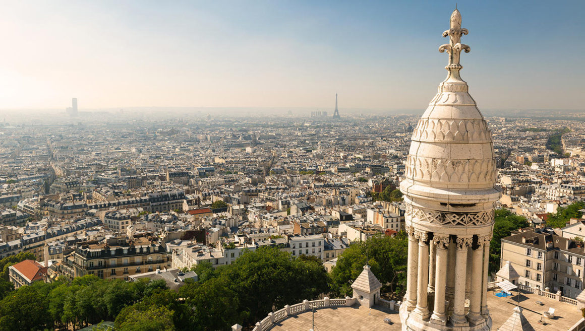 A embasbacadora Sacré Coeur, Paris