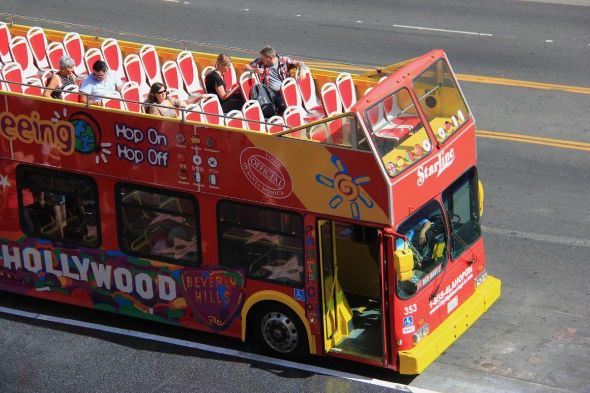 As principais atrações de Los Angeles em um hop on hop off