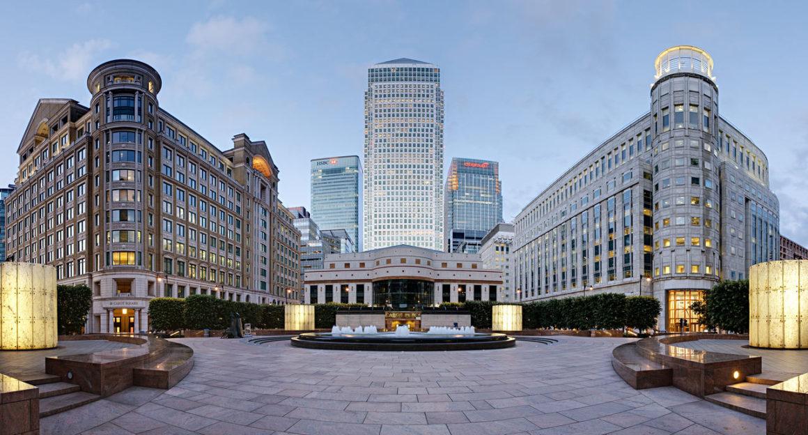 Londres: Canary Wharf e London Docklands