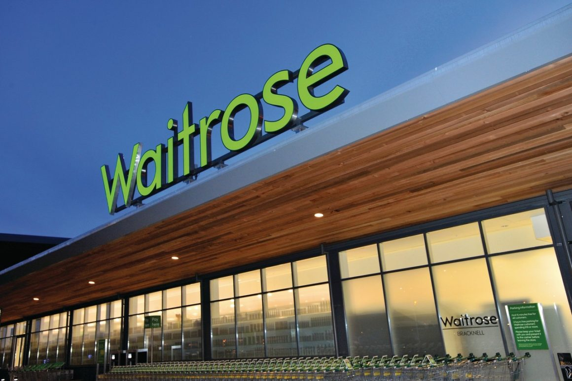 Compras de supermercado em Londres: Waitrose