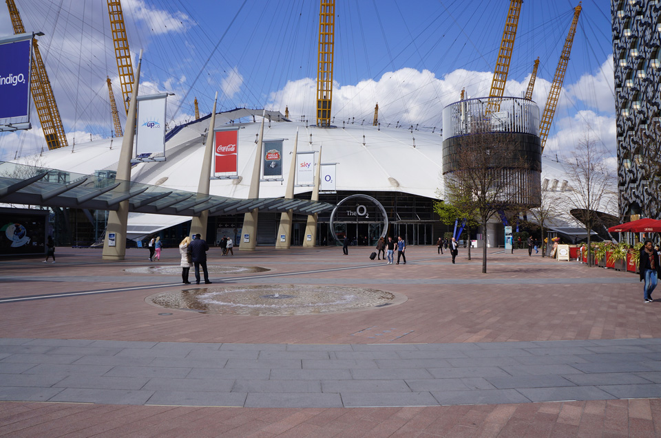 Londres - The O2 Arena 01