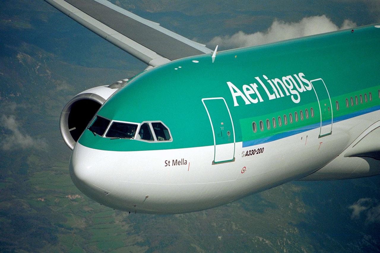 Como foi voar de Aer Lingus na Escócia