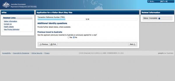 Como solicitar o visto para Austrália