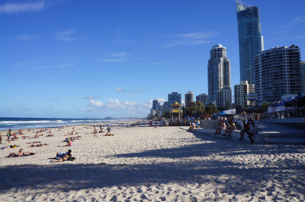 Gold-Coast: Surfers Paradise