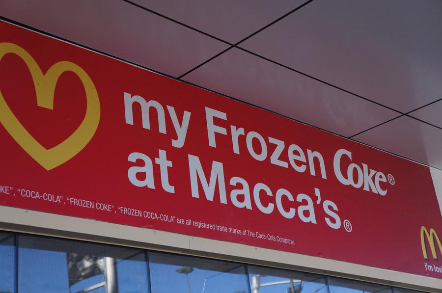 Curiosidades sobre a Austrália: McDonald's é Macca's
