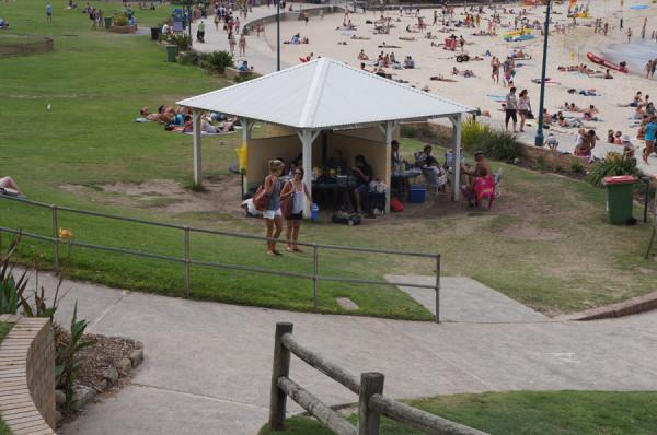 Churrasqueiras em Bronte Beach, Sydney