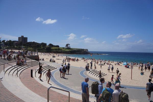 Coogee Beach em Sydney