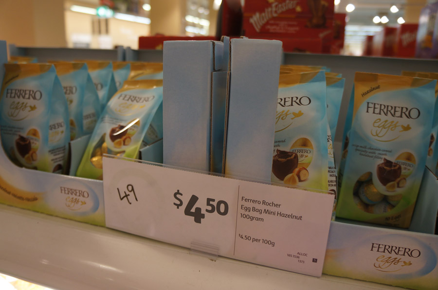 Supermercado na Austrália