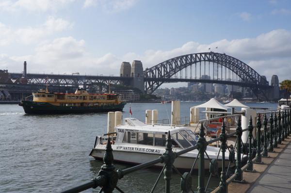 Primeiras impressões de Sydney: Harbour Bridge