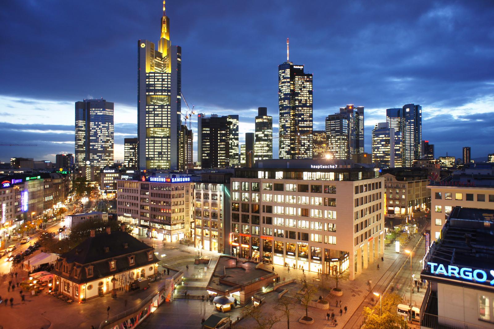Primeira pesquisa de hotéis em Frankfurt, Alemanha