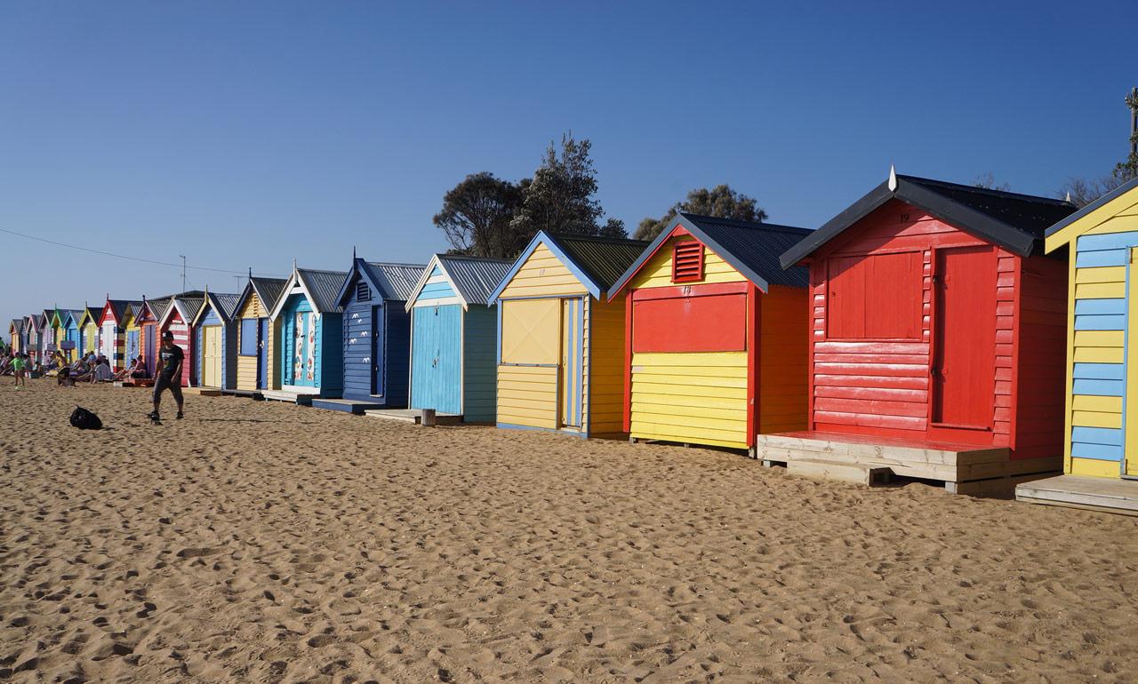 Deixei o meu coração em Brighton, Melbourne