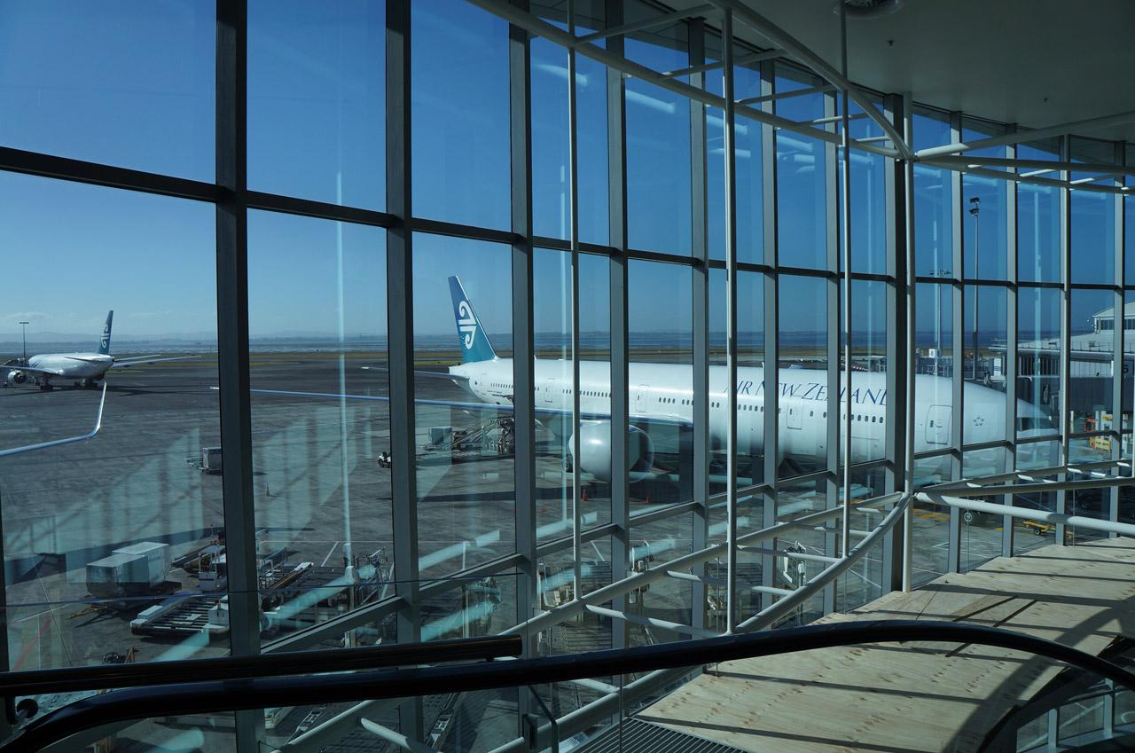 Curiosidades sobre o aeroporto de Auckland