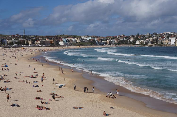 Bondi Beach em Sydney