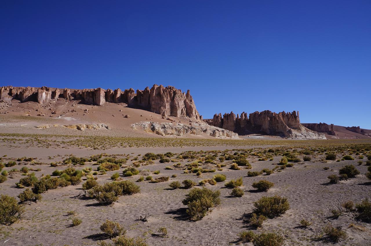 Atacama: Monjes de la Pacana e Salar de Tara