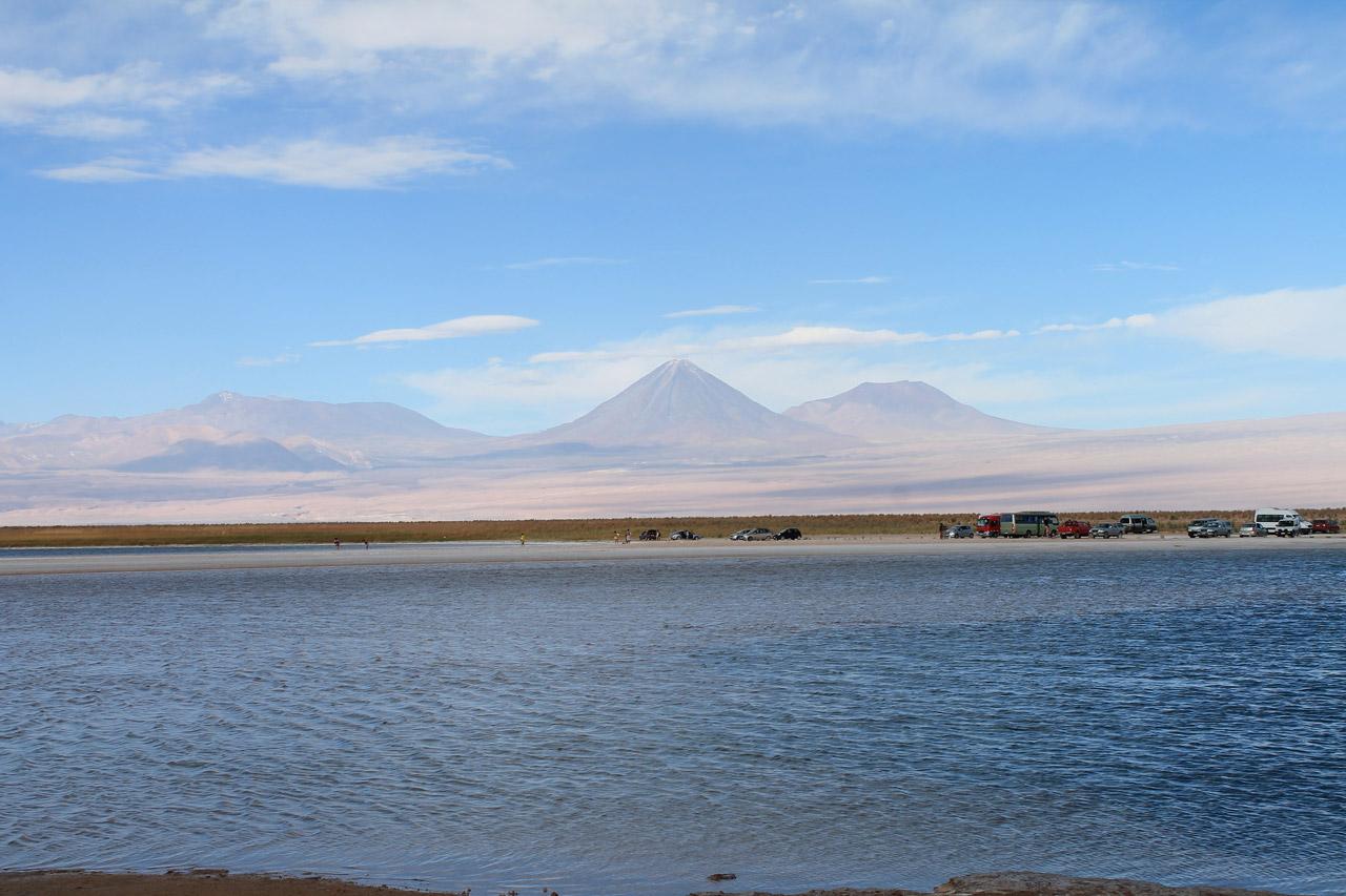 Laguna Cejar e Tebinquinche no deserto do Atacama
