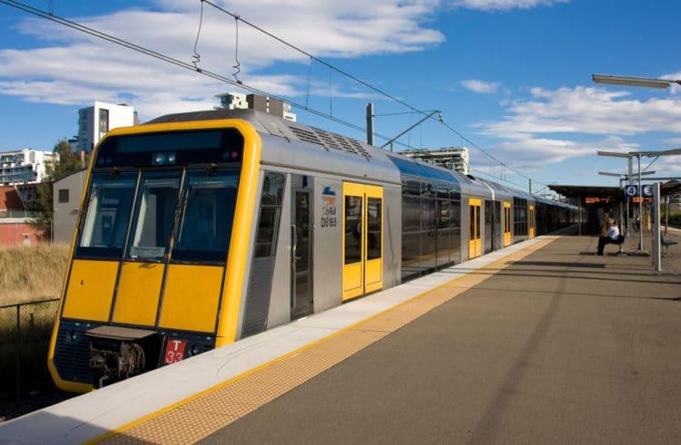 Trem em Sydney