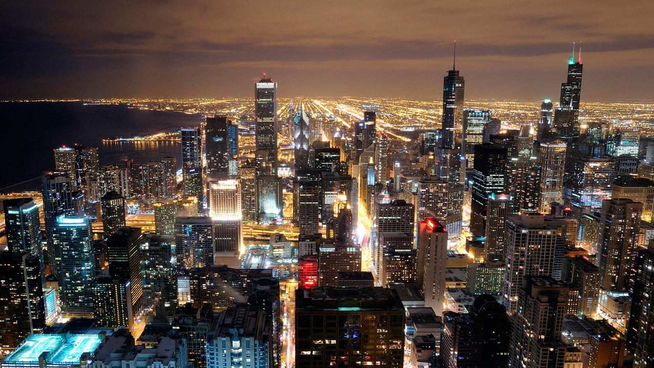 Os bairros do centro de Chicago
