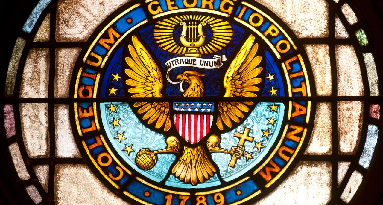 Georgetown em Washington DC merece um enredo de escola de samba
