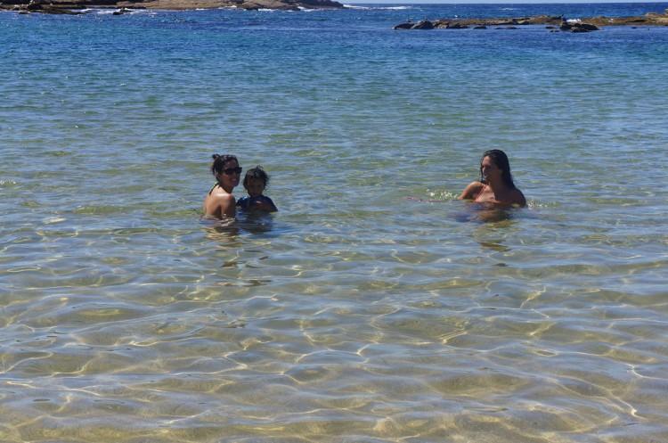 Praias desertas em Sydney