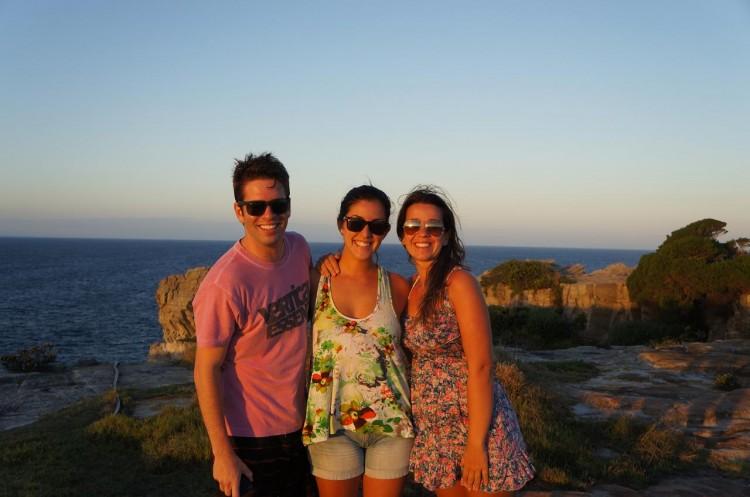 Amigos em Sydney