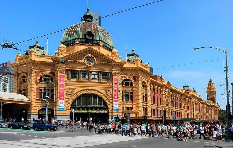 Pontos turísticos de Melbourne: Flinders Station