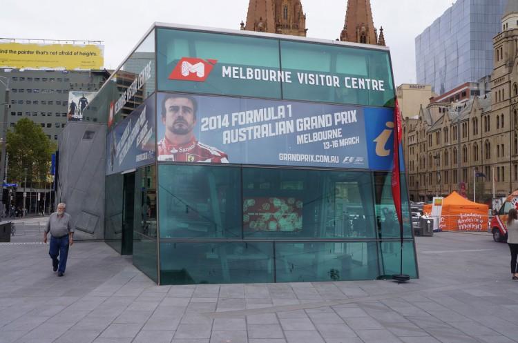 Pontos turísticos de Melbourne: Federation Square