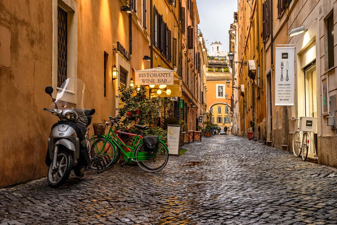 5 apartamentos charmosos em Roma – e por menos de 100 euros/dia!