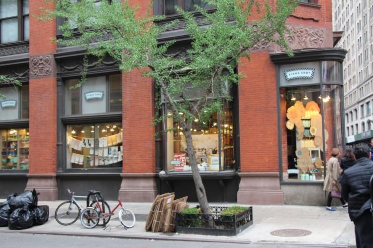 Fishs Eddy em Nova York: loja de louças de cozinha