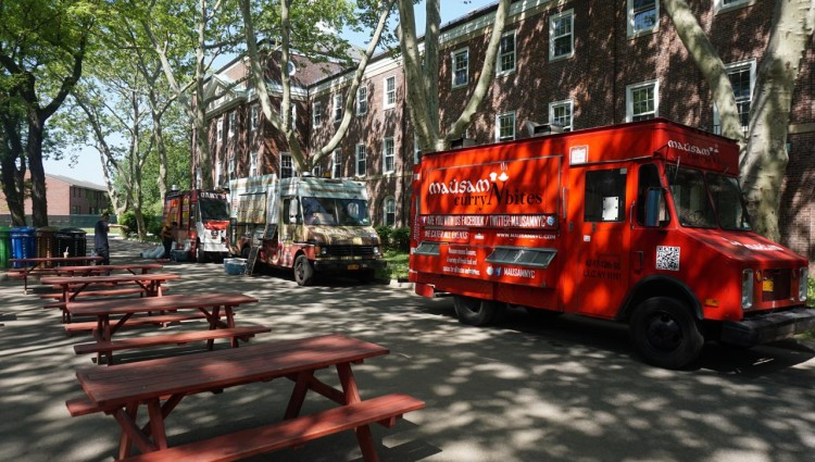 Food trucks em Nova York