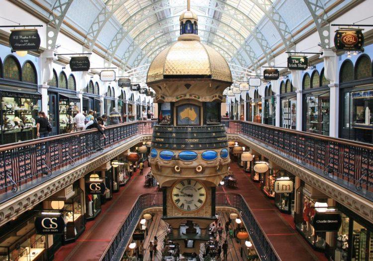 Compras em Sydney: Queen Victoria Building