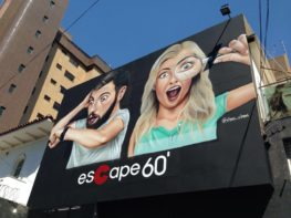 Fui conhecer o Escape 60 e já saí indicando para todo mundo!