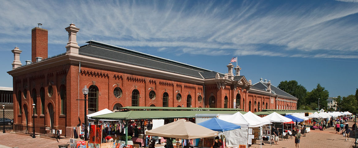 Eastern Market, o mercado de rua mais famoso de Washington DC