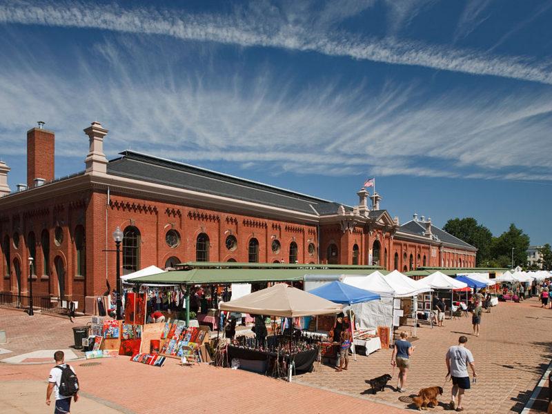 Eastern Market, o mercado de rua mais famoso de Washington DC