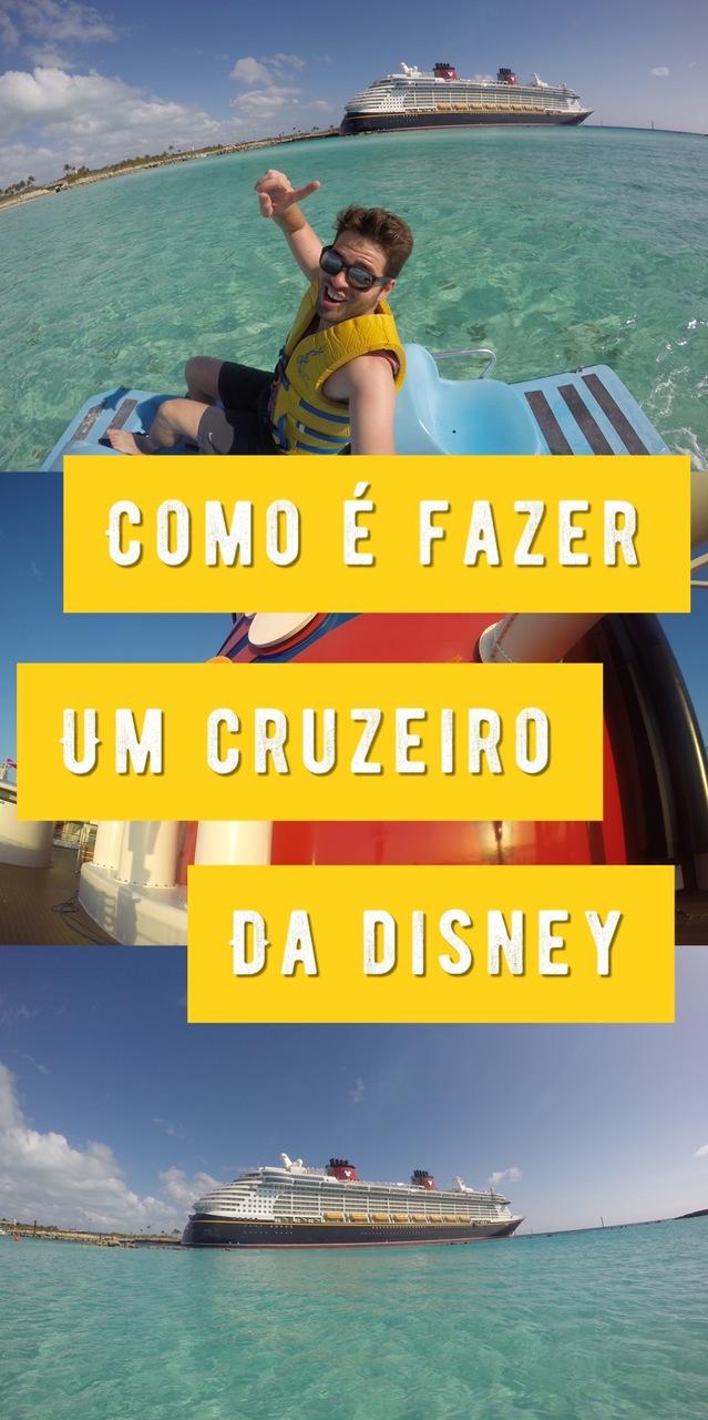 Cruzeiro Disney: como é fazer um cruzeiro em um navio da Disney