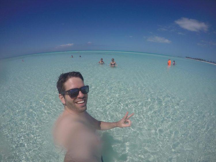 Thiago Khoury nas Bahamas