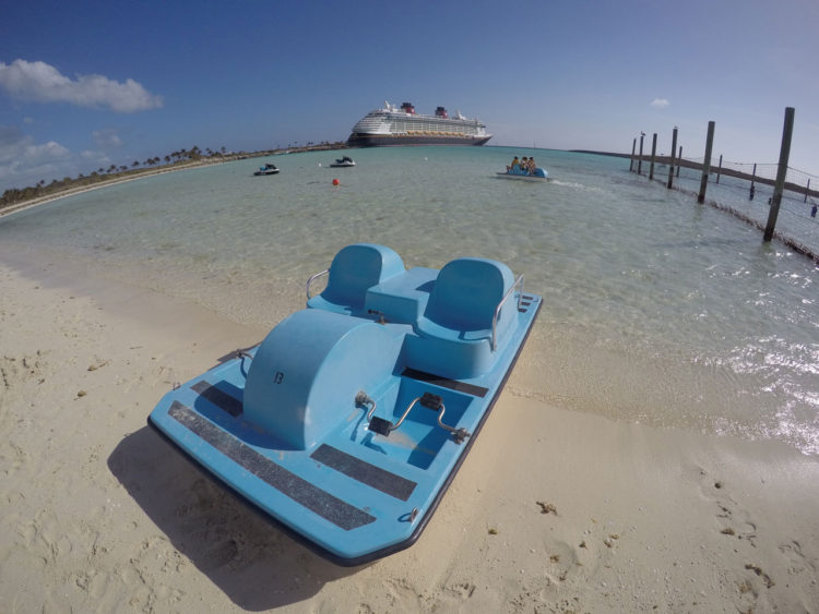 Castaway Cay, a ilha da Disney nas Bahamas