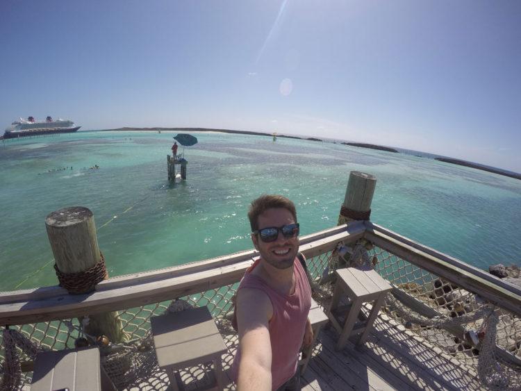 Castaway Cay nas Bahamas