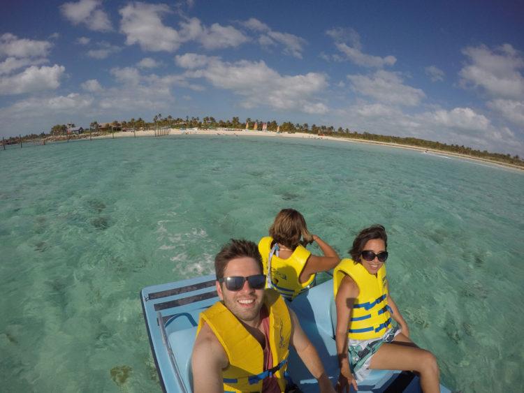 Family Beach em Castway Cay