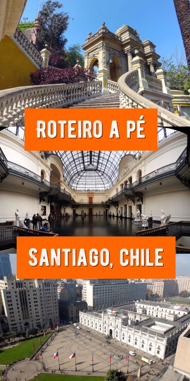 Roteiro de um dia no centro de Santiago (com mapa interativo)
