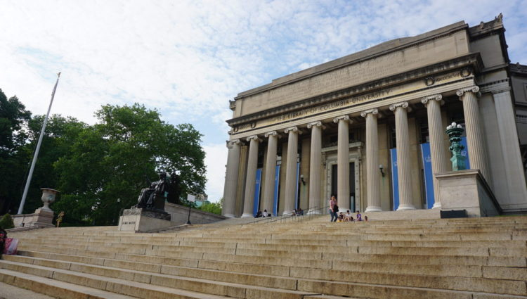 Columbia University em Morningside Heights