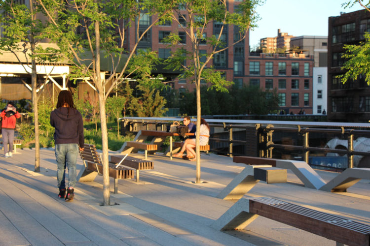 Primavera no High Line